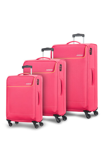Funshine 3 PC Set A Bright Pink