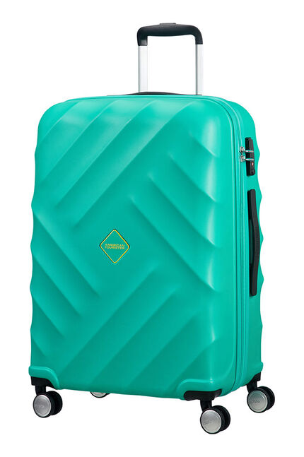 Crystal Glow Koffert med 4 hjul 66cm