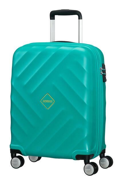 Crystal Glow Koffert med 4 hjul 55cm