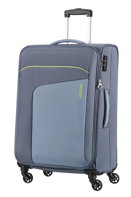 Powerup Utvidbar koffert med 4 hjul 66cm