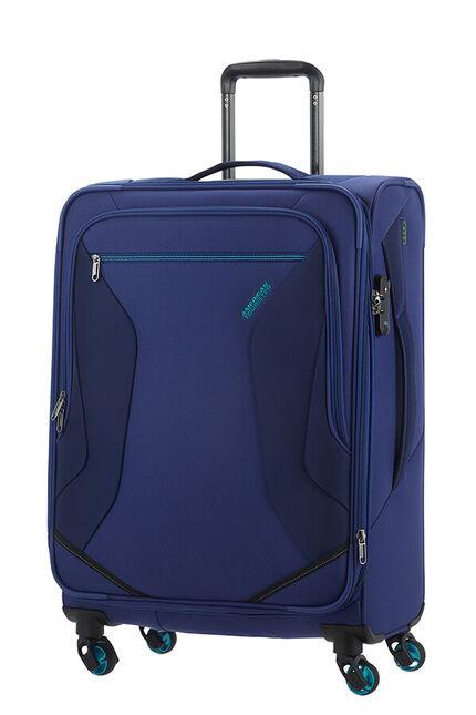 Eco Wanderer Utvidbar koffert med 4 hjul 67cm